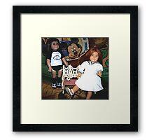 Partners In Crime, My American Girl Dolls Framed Print