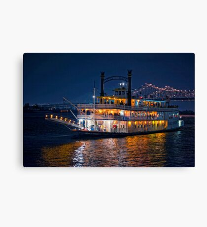 Night in New Orleans Canvas Print