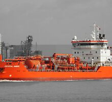 CRYSTAL AMBRA TANKER Selective colour by davesphotographics