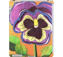 Viola tricolor iPad Case/Skin