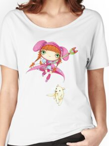 Puppy Guardian Penelope Women's Relaxed Fit T-Shirt