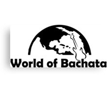 World Of Bachata Canvas Print