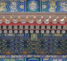Royal Chinese Architecture Sticker