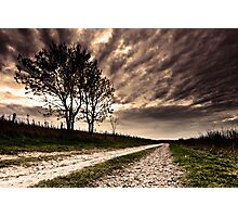 The Old Chalk Road Photographic Print