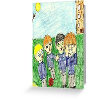 bullying has to stop itshurts others Greeting Card