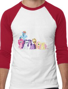 Haters gonna hate, Ponies gonna pwn Men's Baseball ¾ T-Shirt