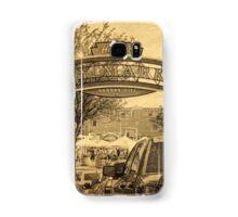 Kansas City River Market, City Market, Farmer's Market, Vintage Style Samsung Galaxy Case/Skin