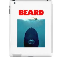 Beard Jaws. iPad Case/Skin