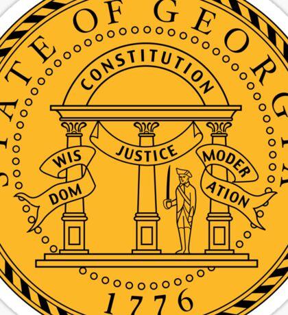 Georgia State Seal Sticker Sticker