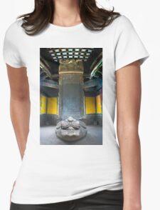 Pillar of Wisdom Womens Fitted T-Shirt