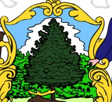 Maine State Seal Sticker Sticker