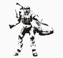 Crab Spartan - BiLevel Clear One Piece - Short Sleeve