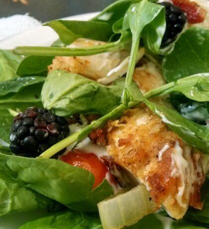 Fiery Blackberry Chicken Salad Sticker