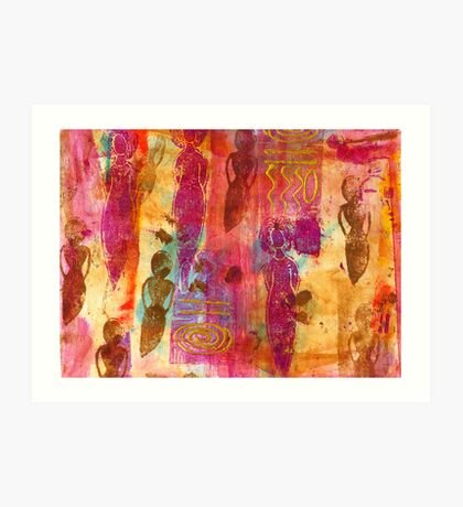 Working Women Abound Art Print