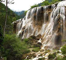Pearl Shoal Falls by jmccabephoto