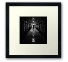 Put My Name On The Walk Of Shame Framed Print