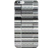Glitch B/W iPhone Case/Skin