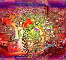 Steam Traction Engine by mike1956