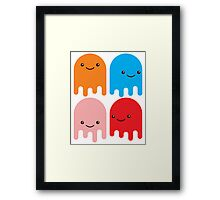 Friendly Ghosts (Print) Framed Print