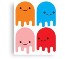 Friendly Ghosts (Print) Canvas Print