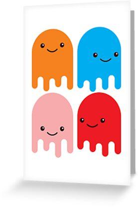 Friendly Ghosts (Print) by Eozen