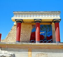 Archaeological site of Knossos. Minoan Palace. Crete. by FER737NG