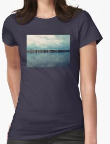 Rain over paradise Womens Fitted T-Shirt