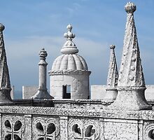 Belem Tower, Lisbon by Nigel Fletcher-Jones