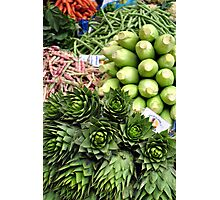 Mixed vegetables. Photographic Print