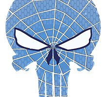 SpiderPunisher in Blue 2 by chriswig