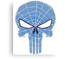 SpiderPunisher in Blue 2 Canvas Print