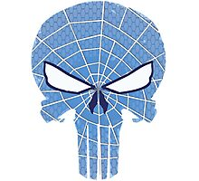 SpiderPunisher in Blue 2 Photographic Print