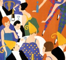 Brightest London Vintage Poster Restored Sticker