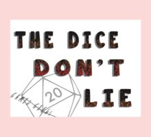 Dice Don't Lie - Gamer Geeks One Piece - Long Sleeve