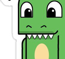 Top Hat Dino Sticker