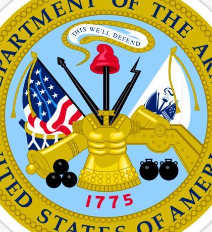 US Army Emblem Sticker Sticker