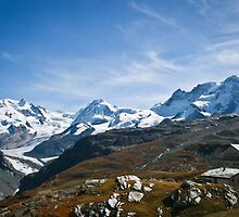 Swiss Alps by Philip Kearney