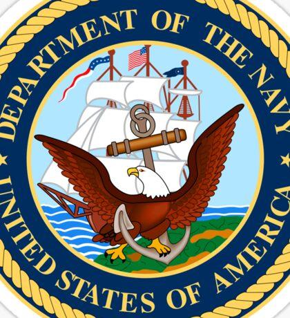 US Navy Emblem Sticker Sticker