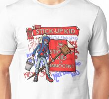 The Stick-Up Kid -  New York Comic Con Design Challenge Unisex T-Shirt