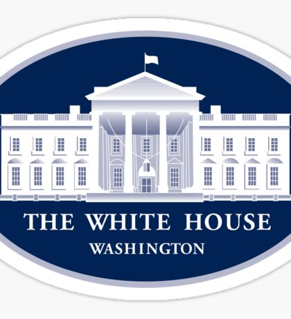 White House Seal Sticker Sticker