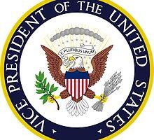 US Vice President Seal Sticker by ukedward