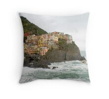 Monterosso al Mare, Italy Throw Pillow