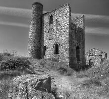 Cornish pump house by David Stevens