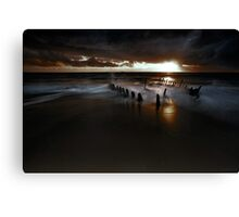 Dark and moody Canvas Print