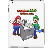 Mario and Luigi Paper Jam iPad Case/Skin