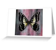 Butterflies Collection: Black butterfly Greeting Card