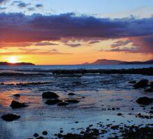 Louisburgh Sunset, County Mayo, Ireland Sticker