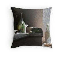 'Time Capsule' Still Life Throw Pillow