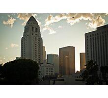 The Heart of LA Photographic Print