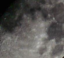 Autumn Morning Moon Sticker